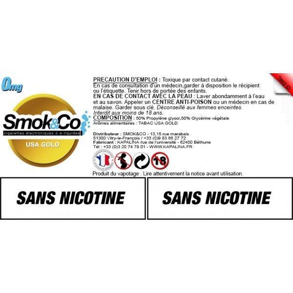Smok&Co USA Gold 10ML